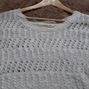 Bluenotes Sweaters - 3/$30-Bluenotes crochet sweater